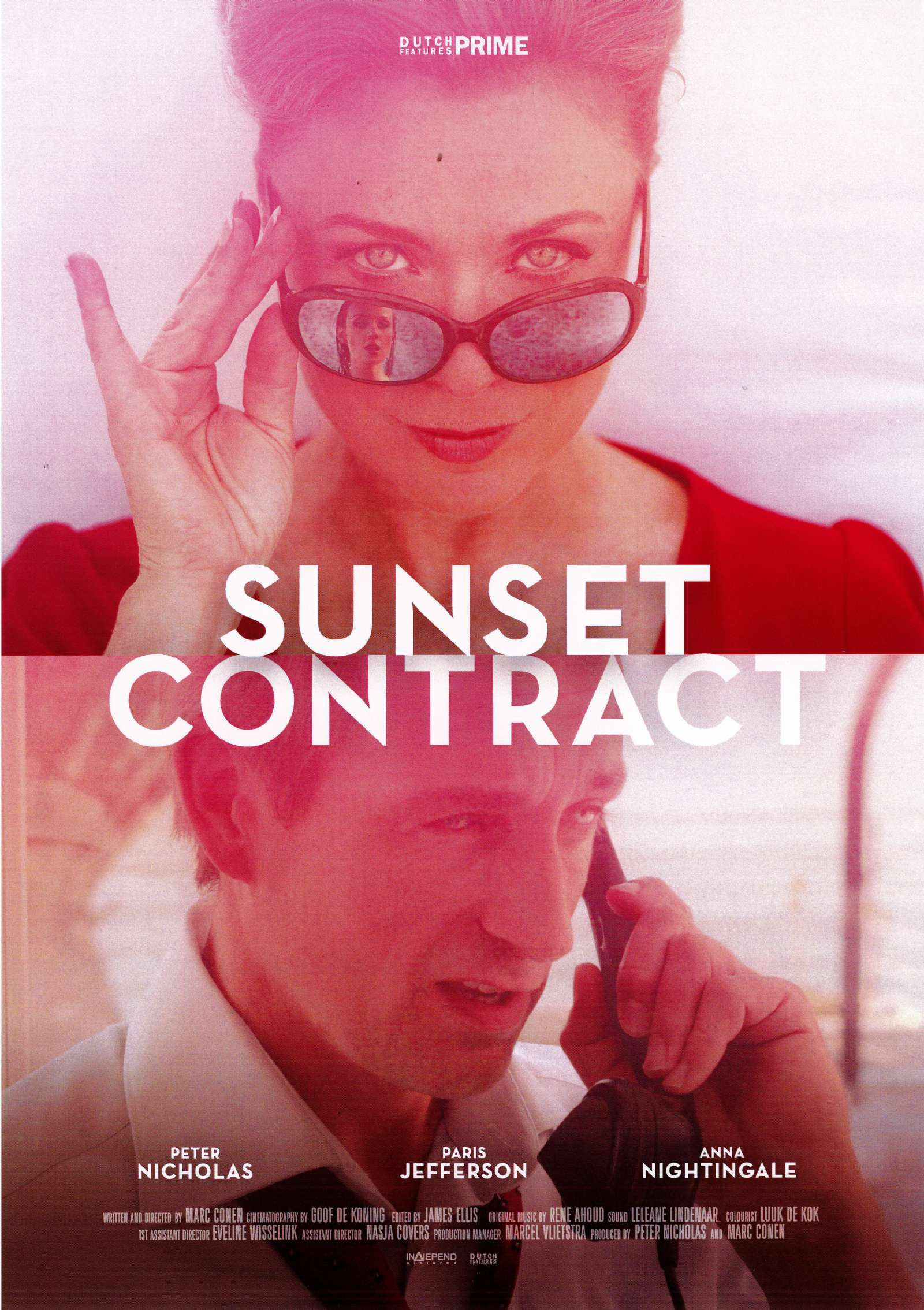 VENDITA E DOPPIAGGIO TV MOVIE SUNSET CONTRACT